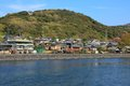 Uji town kyoto prefecture japan view river uji Stock Photography