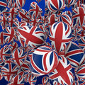 UK balloons Royalty Free Stock Image