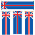 Uk banners Royalty Free Stock Image