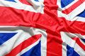 Uk british flag union jack Stock Photography