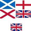 UK flag Royalty Free Stock Photo