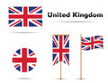 Uk flag Royalty Free Stock Photography