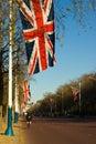 UK flag Royalty Free Stock Photo