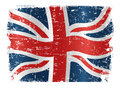 UK flag design Royalty Free Stock Photos
