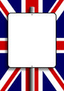 UK Flag Sign Post Stock Images
