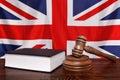 UK law Royalty Free Stock Photo