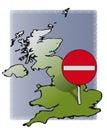 UK no entry