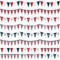 Uk party bunting Royalty Free Stock Image