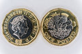 Uk pound coin Royalty Free Stock Photo