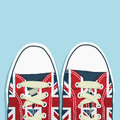 Uk shoes Royalty Free Stock Photography