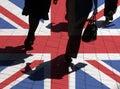 UK shoppers Royalty Free Stock Photo
