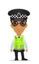 UK traffic police officer Royalty Free Stock Images