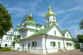 Ukraina orthodox church Stock Photo