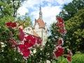 Ukraine beautiful old palace castle shenbornov transcarpathia Royalty Free Stock Images
