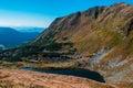 Ukraine, Carpathians mauntains, Сhernogirskiy array Royalty Free Stock Photo