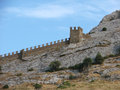 Ukraine crimea sudak sudak fortress genoese fortress Stock Images