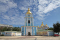 Ukraine kiev st michael s golden domed monastery Stock Photo