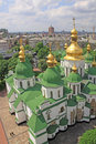 Ukraine. Kiev.Ukraine. Saint Sophias Cathedral. Bell tower Royalty Free Stock Photo