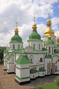 Ukraine. Kiev.Ukraine. Saint Sophias Cathedral. Bell tower Royalty Free Stock Photo