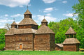 Ukrainian ancient church Royalty Free Stock Photos