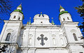 Ukrainian church in Chernigov Royalty Free Stock Photos