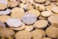 Ukrainian coins Royalty Free Stock Photography