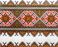 Ukrainian color knitted textile 1 Royalty Free Stock Images