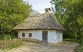 Ukrainian cottage Stock Images