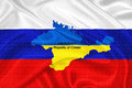 Ukrainian crisis ukraine crimea votes to join russia Stock Photography