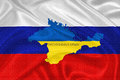 Ukrainian crisis ukraine crimea votes to join russia Royalty Free Stock Photo
