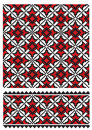 Ukrainian embroider texure Stock Photography