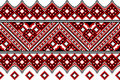 Ukrainian embroidery ethnic Royalty Free Stock Images