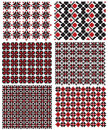 Ukrainian embroidery texture Stock Photography