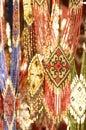 Ukrainian ethnic decorations photo for a design Stock Images