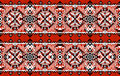 Ukrainian folk art. Traditional national embroidered seamless pattern. Abstract texture