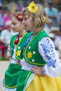 Ukrainian folk dancers san diego ca sep perform during ukraine's independence day celebration at the house of ukraine in balboa Stock Photography