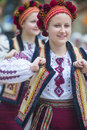 Ukrainian folk dancers san diego ca sep perform during ukraine's independence day celebration at the house of ukraine in balboa Stock Photo