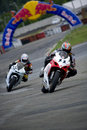 Ukrainian Motorbike Championship Royalty Free Stock Photos