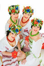 Ukrainian smiles Stock Images