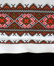 Ukrainian table-cloth design concept Stock Photography