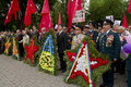 Ukrainian veterans of the Great Patriotic War Victory Day Stock Image