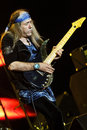 Uli Jon Roth - Belgrade BeerFest 2011. Royalty Free Stock Images