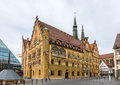 Ulm town hall (Rathaus) - Germany, Baden-Wurttemberg Royalty Free Stock Photo