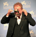 Ulrich seidl poses for photographers at th venice film festival on september in venice italy Royalty Free Stock Image