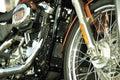 Ultra clean motor bike Royalty Free Stock Photo