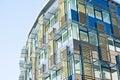 Ultra-modern building: advanced design. Royalty Free Stock Photo