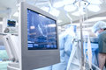 Ultrasound in Operating Room Royalty Free Stock Photo