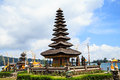Ulun danu temple beratan lake in bali indonesia Stock Photo