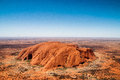 Uluru Ayers Rock Royalty Free Stock Photo
