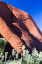 Uluru Rock Detail Royalty Free Stock Photo